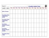 Cub Scout - Wolf Den - Achievement 3a: Healthy Habits Chart