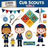 Cub Scouts Clip Art Set Girl scouts