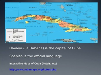Cuba: An Introspective, a Cultural Tradition & Overview