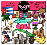 Cuba Clip Art Bundle {Educlips Clipart}