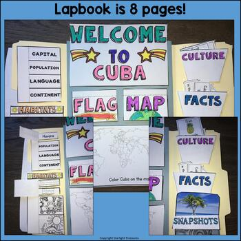 Cuba Complete Country Study for Early Readers - Cuba Country Bundle