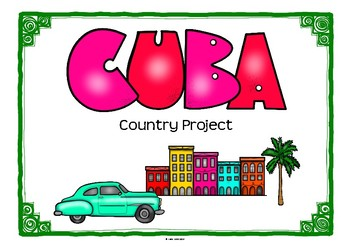 Cuba Project for Geography