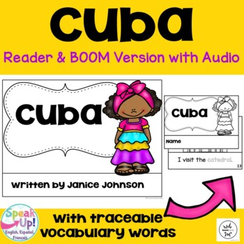 Cuba Reader {English version} & Vocab pages ~ Simplified for Young Readers