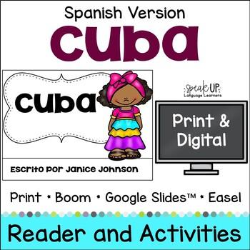Cuba Reader {en español} & Vocab pages ~ Simplified for Language Learners