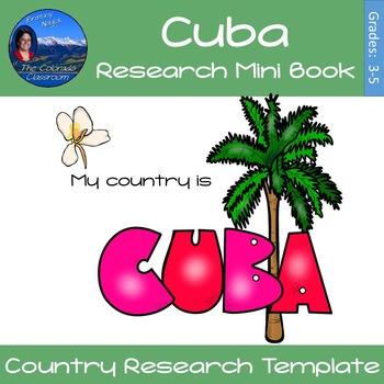 Cuba - Research Mini Book