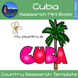 Cuba - Research Mini Book