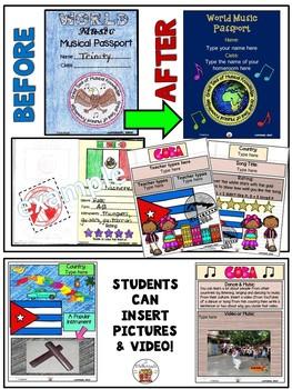 Cuba World Music Digital Passport