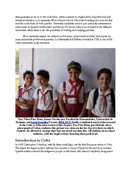 Cuba and Education
