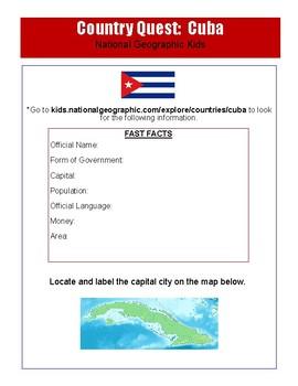 Cuban Culture Internet Activity