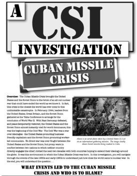 Cuban Missile Crisis: A CSI on Cuba, Castro, Kennedy, Khrushchev, & Cold War!
