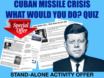 Cuban Missile Crisis Decision Making Exercise