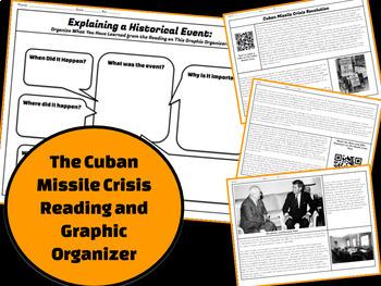 Cuban Missile Crisis: Explain a Historical Event Reading & Graphic Organizer