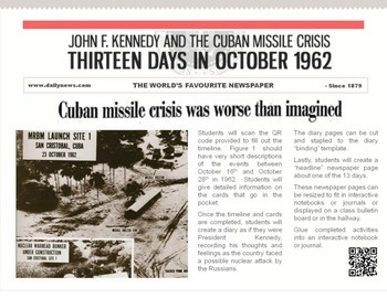 Cuban Missile Crisis Interactive Notebook Extension Activity