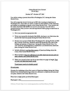 Cuban Missile Crisis Lesson Plan Collection