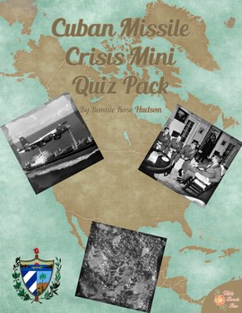 Cuban Missile Crisis Mini Quiz Pack