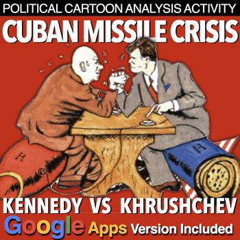 Cuban Missile Crisis Political Cartoon Analysis (Cold War)