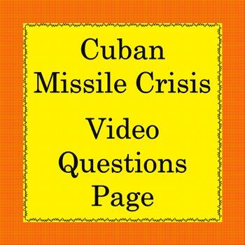 Cuban Missile Crisis Video Guide
