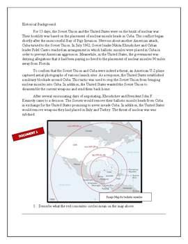 Cuban Missile Stimulus Based Question Activity