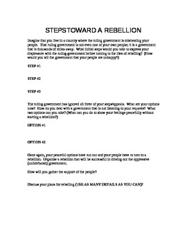 Cuban Rebellion Activity