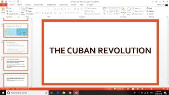 Cuban Revolution - ENTIRE UNIT ZIPFILE