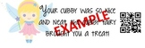 Cubby Fairy QR Coupons