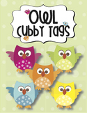 Cubby Name Tags