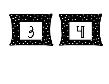 Cubby Number Labels