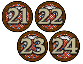 Cubby Numbers (Country Western Theme)