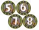 Cubby Numbers (Dinosaur Theme)