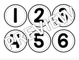 Cubby Numbers/Organization Numbers