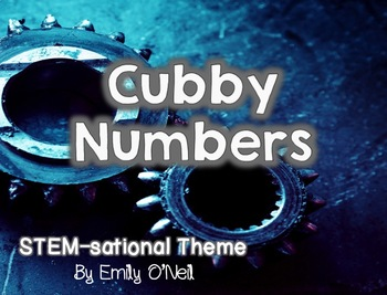 Cubby Numbers (STEM-sational Theme)