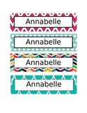 Cubby/Desk Labels