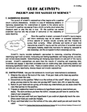 Cube Activity