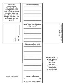 Cube Book Report