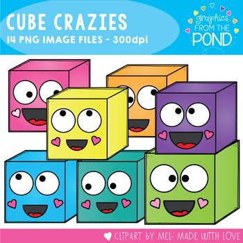 Cube Crazies Clipart