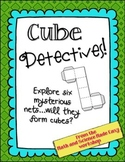 Cube Detectives!  More fun with nets and geometry.