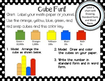 Cube Fun:  A Place Value Game