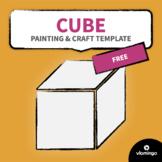 Cube - Painting & Craft Template   vlamingo