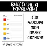 Cube Paragraph Model Graphic Organizer