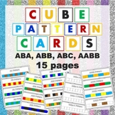 Cube Pattern Cards
