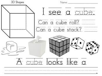 Cube Practice Page