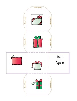 Cube Roll:  Christmas Presents