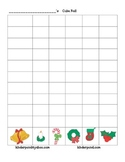Cube Roll:  Christmas Symbols