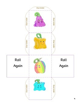 Cube Roll: Pumpkins EZ