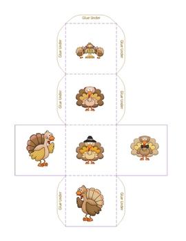 Cube Roll-Turkey Twice