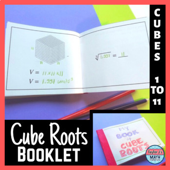 Cube Roots Activity