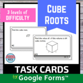 Cube Roots Digital Distance Learning for Google Forms™ Task Cards