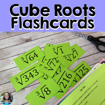 Cube Roots Flash Cards