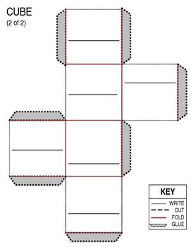 Cube Sight Word Activity