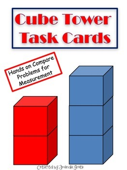Cube Tower Task Cards